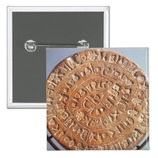 The Phaistos Disc, with unknown significance Button