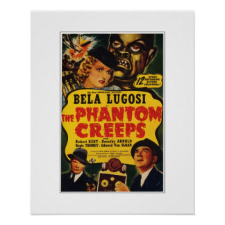 The Phantom Creeps Poster