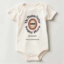 The Phantom Farter Super Hero (Baby) Baby Bodysuit