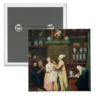 The Pharmacist 2 Inch Square Button