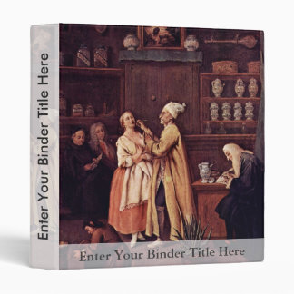 The Pharmacist By Longhi Pietro (Best Quality) Binder