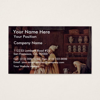 The Pharmacist By Longhi Pietro (Best Quality) Business Card