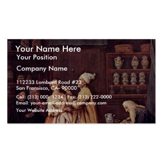The Pharmacist By Longhi Pietro (Best Quality) Double-Sided Standard Business Cards (Pack Of 100)
