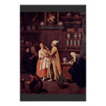 The Pharmacist By Longhi Pietro (Best Quality) Poster