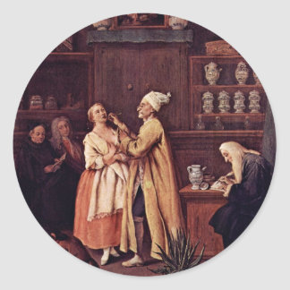 The Pharmacist By Longhi Pietro (Best Quality) Stickers