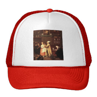 The Pharmacist by Pietro Longhi Hats