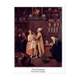 The Pharmacist By Pietro Longhi Post Card