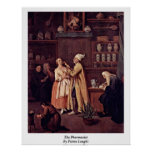 The Pharmacist By Pietro Longhi Print