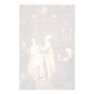 The Pharmacist by Pietro Longhi Stationery Paper