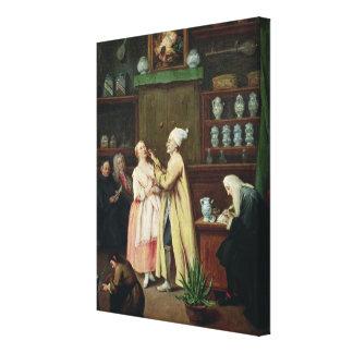 The Pharmacist Canvas Print