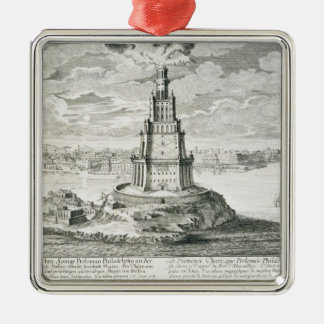 The Pharos of Alexandria, plate 9 from 'Entwurf ei Metal Ornament