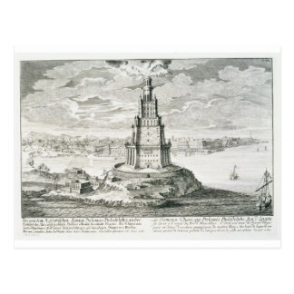 The Pharos of Alexandria, plate 9 from 'Entwurf ei Postcard