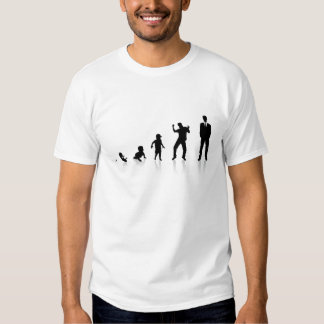 The Phases of Business Man Tee Shirt