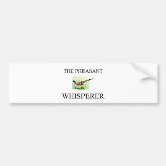 The Pheasant Whisperer Bumper Stickers