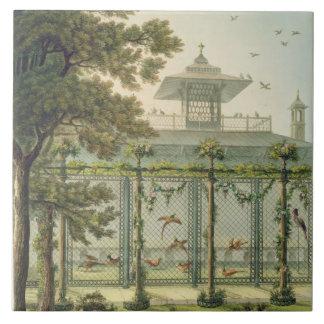 The Pheasantry, engraved by Joseph Constantine Sta Ceramic Tile