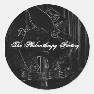 The Philanthropy Factory Sticker