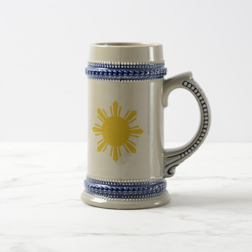 the Philippines   cropped sun, Philippines Coffee Mug