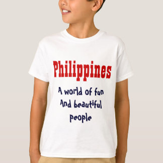 The Philippines kids t-shirts