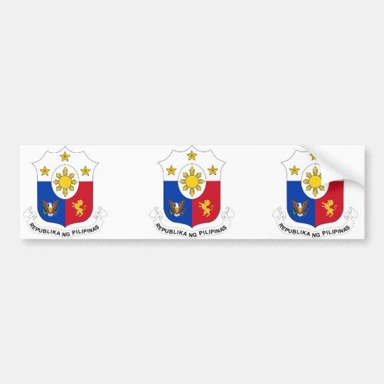 the Philippines, Philippines Bumper Sticker