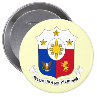 the Philippines, Philippines Pinback Button