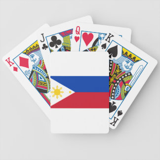 The Philippines (Pilipinas) flag Bicycle Playing Cards