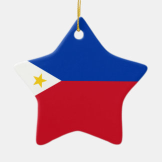The Philippines (Pilipinas) flag Ceramic Ornament