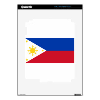 The Philippines (Pilipinas) flag Decal For iPad 2