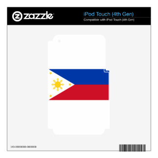 The Philippines (Pilipinas) flag iPod Touch 4G Skins