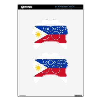The Philippines (Pilipinas) flag Xbox 360 Controller Skins