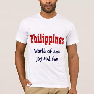 The Philippines slogan t-shirts