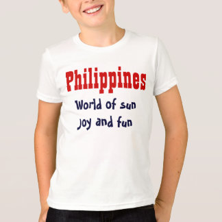 The Philippines slogan t-shirts