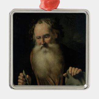 The Philosopher, 1686 Metal Ornament