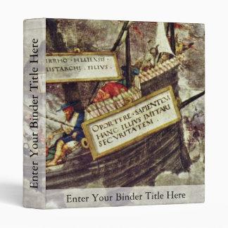 The Philosopher Pyrrho In Stormy Seas By Petrarca- Binder