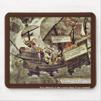 The Philosopher Pyrrho In Stormy Seas By Petrarca- Mousepad
