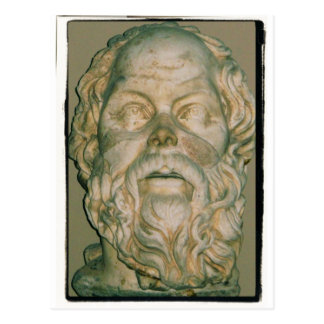 The philosopher Socrates Postcard