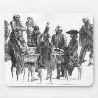 The Philosophers at Supper, c.1750 Mouse Pad