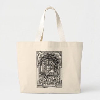 The Philosopher's Stone Large Tote Bag