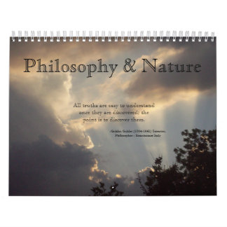 The Philosophy and Nature Calendar
