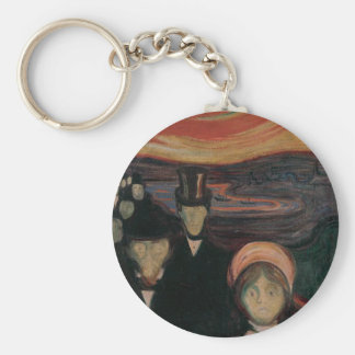 The Phobic Jitters Basic Round Button Keychain