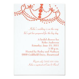 The Phoenician Invitation-papaya Card