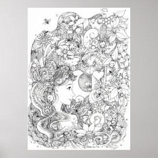 The Phoenix - illustration Posters