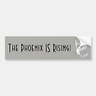 The Phoenix IS Rising bumper sticker