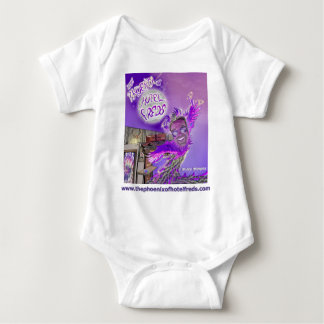 The Phoenix of Hotel Freds Apparel Cover Baby T-shirt