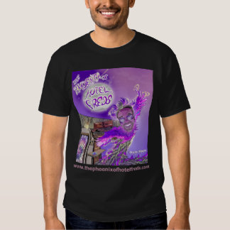 The Phoenix of Hotel Freds Apparel Cover M Dark T-shirt