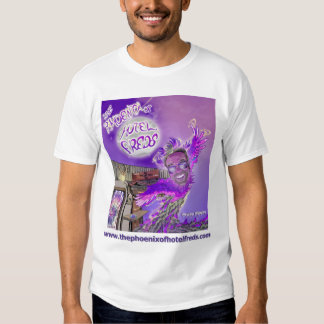The Phoenix Of Hotel Freds Apparel Cover Men Tee Shirt