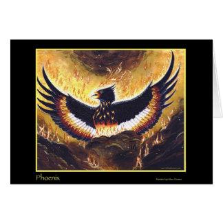 The Phoenix Rising Card