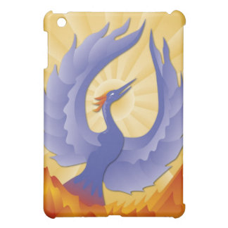 The Phoenix Rising from the Ashes iPad Mini Cases