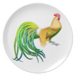 The Phoenix Rooster Plate