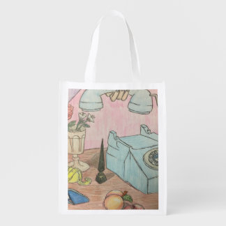 The Phone Call Grocery Bag