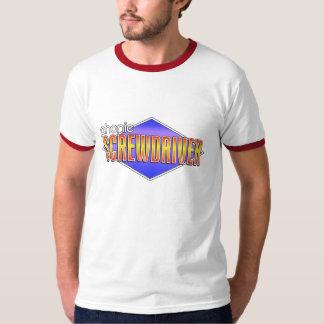The Phonic Screwdriver Logo Ringer Shirt